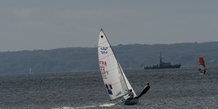 Hempel sailing world championships Egå, Test event
